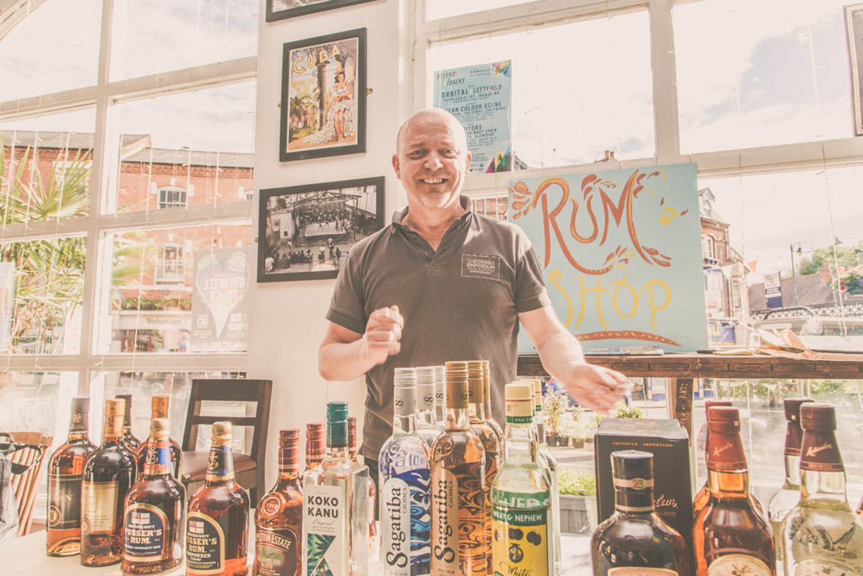Birmingham Rum Festival 2018 Retail Rum Shop 1500