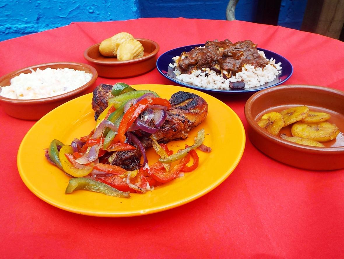 birmingham-rum-festival-street-food-spread