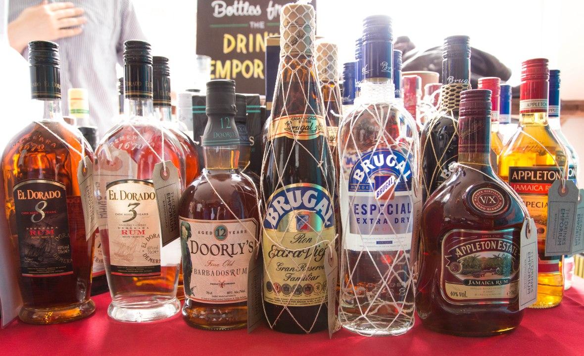 Birmingham Rum Festival 2017 rums