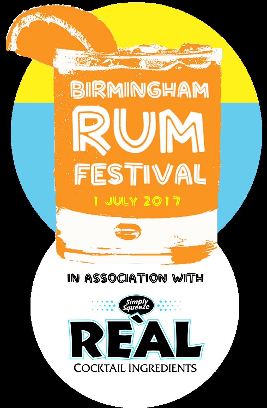 Birmingham Rum Festival 2017 + REAL half white